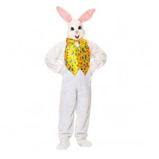 Super Deluxe Unisex Adult Mascot Easter Bunny Costume