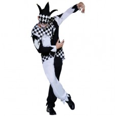 Dark Jester Mens Costume