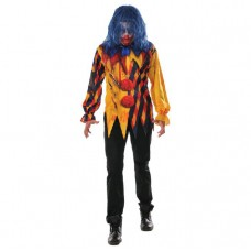 Mens Scary Killer Clown Costume
