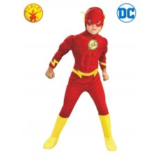 The Flash Deluxe Kids Muscle Chest Costume