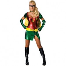 Sexy Robin Batman Villain Womens Costume