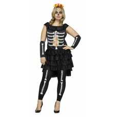 Day of the Dead Plus Size Costume