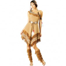 Pocahontas Red Indian Costume